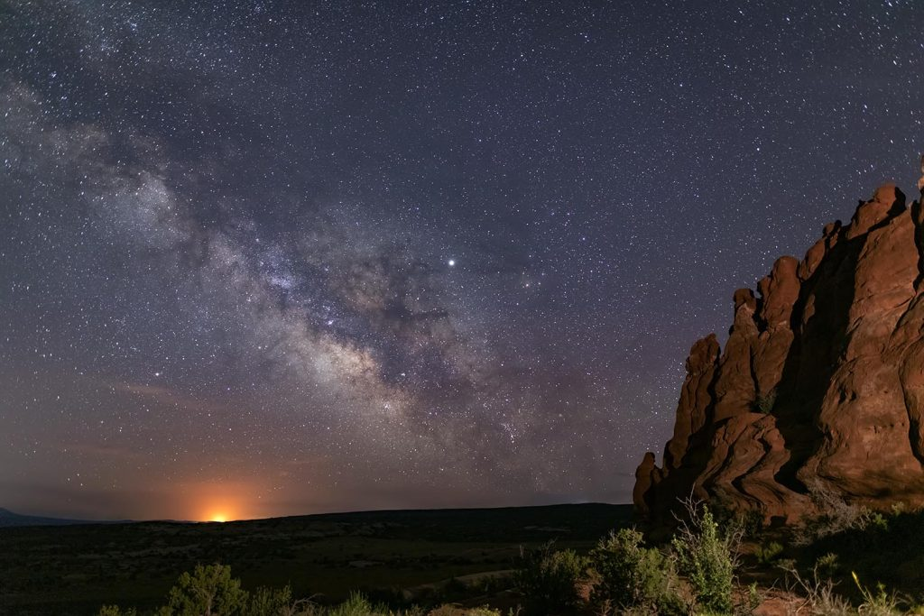 Milky Way at Navajo Rocks