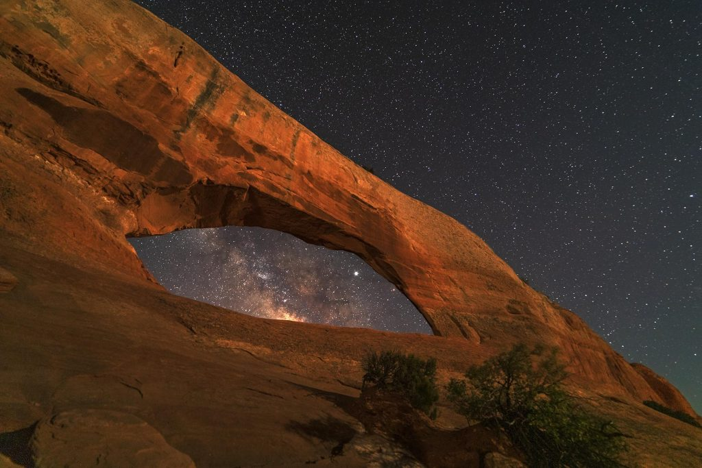 Wilson Arch south of Moab